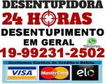 Desentupidora Campinas 992312502 - Desentupidora Centro em Campinas