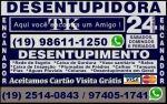Desentupidora de Esgoto no Taquaral em Campinas Orçamento Grátis Aceitamos Cartão