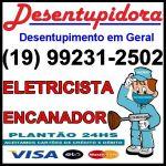 Desentupidora em Campinas 99231-2502 Eletricista em Campinas Encanador em Campinas