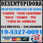 Desentupidora em Campinas e Região 19 3327-0091 Eletricista e Encanador em Campinas
