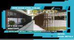 Dhabi Steel - Gradil Eletrofundido para cercamento - Medidas Diversos -