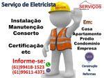 Eletricistas para Serviços Profissionais de Elétrica no Df