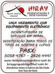 Encanador Desentupidora 11  5058-47-67 Vila Brasilina