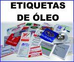 Etiquetas de troca de óleo personalizadas