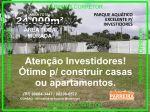 Exclusivo Investidores de Sao Paulo Vendo Terreno comercial e industrial em Belém do Para. Vendo Clube aquático Área de 24.000m² em Icoaraci.
