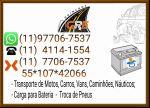 Guincho na Zona Sul 97706-7537 Chupeta em Bateria Auto Socorro Zona Sul Sp
