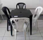 Jogo Mesa  Cadeiras Plástico