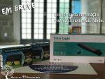 Lampada Solar - Economia da iluminação visando á sustentabilidade. Rj-rio