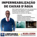 Limpeza e Impermeabilização de Reservatórios de Água no Rio de Janeiro