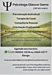Psicóloga Clínica e Psicopedagoga Glauce Gama