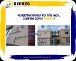 Renovo Reformas Arte e Textura em Fachada Serviço em Altura Pintura Externa Interna Obras e Reforma em Geral Condomínio  Bh