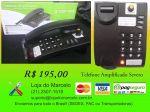 Telefones Amplificados para Deficientes Auditivos