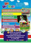 Up Up Kids Aluguel de Cama Elástica Castelinho Inflável e Piscina de Bolinhas