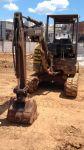 Vendo mini escavadeira volvo ano 2010 Ec27