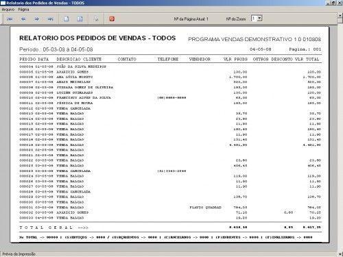 Programa para controlar vendas e estoque v1.0   FpqSystem 1903