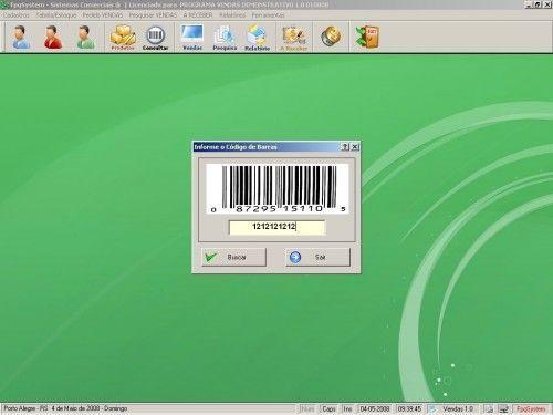 Programa para controlar vendas e estoque v1.0   FpqSystem 1912