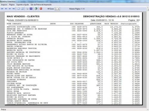 Programa Controle de Estoque, Pedido de Vendas e Financeiro v3.0 PLUS 15921