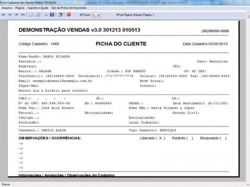 Programa Controle de Estoque, Pedido de Vendas e Financeiro v3.0 PLUS 15922