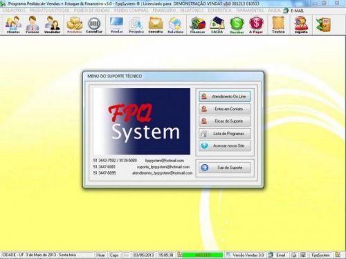 Programa Controle de Estoque, Pedido de Vendas e Financeiro v3.0 PLUS 15931