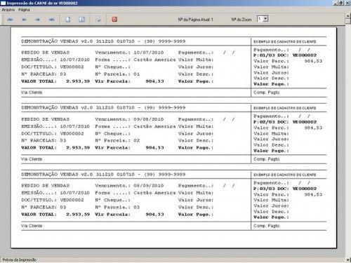 Programa para Controlar Vendas, Controlar Estoque e Financeiro v2.0 2534