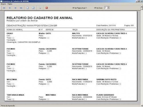 Programa para PetShop e Veterinária + Produtos e Serviços v1.0 2557