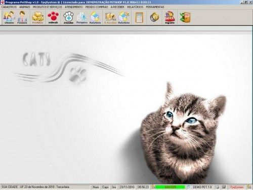 Programa para PetShop e Veterinária + Produtos e Serviços v1.0 2561