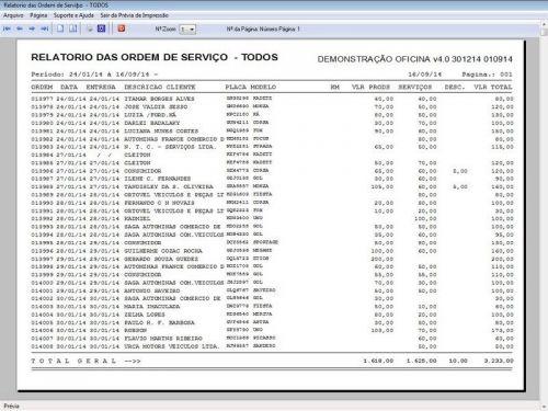 Programa para Oficina Mecânica para Veiculos em Geral, Vendas e Financeiro v4.0 FpqSystem 97788