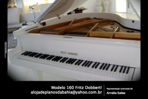 Piano Fritz Dobbert e Kawai novo entrega para todo o país. 29053