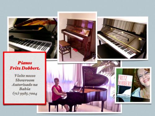 Piano Fritz Dobbert e Kawai novo entrega para todo o país. 29054