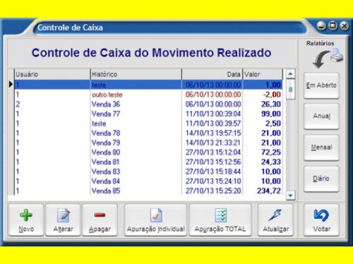 Controle de Estoque Caixa Vendas e Pdv Frente de Caixa  Pdv Prático  Fênix Aplicativos 33422