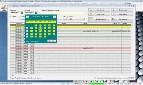 Programa Ordem de Serviço Assistencia Tecnica, Vendas, Estoque e Financeiro v5.0 Plus 58436