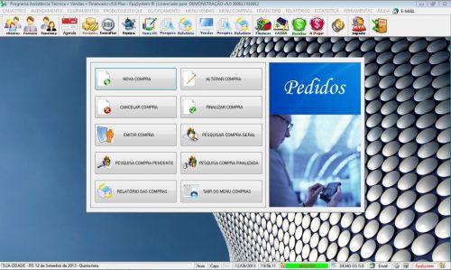 Programa Ordem de Serviço Assistencia Tecnica, Vendas, Estoque e Financeiro v5.0 Plus 58448