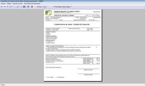 Programa Ordem de Serviço Assistencia Tecnica, Vendas, Estoque e Financeiro v5.0 Plus 58449