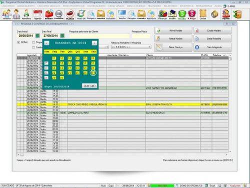 Programa para Oficina Mecânica com Check List + Vendas e Financeiro v5.0 92483