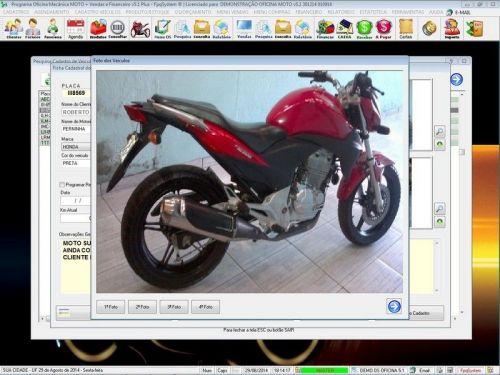 Programa para Oficina Mecânica MOTO com Check List + Vendas e Financeiro v5.1 PLUS 92511
