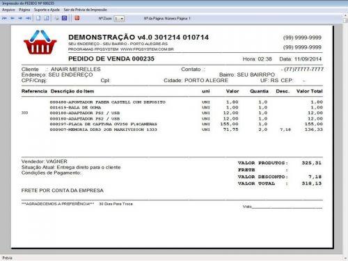 Programa Assistência Técnica, Ordem de Serviço, Orçamento e Financeiro v4.0 - Fpqsystem 96584