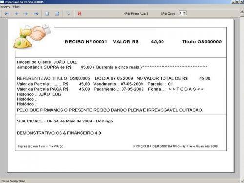 Programa Assistência Técnica, Ordem de Serviço, Orçamento e Financeiro v4.0 - Fpqsystem 96586