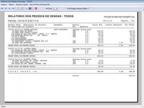 Programa para Assistência Técnica, Ordem de Serviço, Orçamento e Vendas v3.0 - Fpqsystem 96643