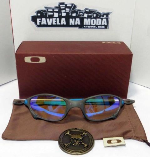 9ff232191 Óculos Oakley Juliet (Lentes Clear)+Caixinha/Saquinho/Medalhão 1713392