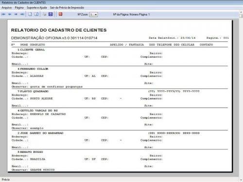 Programa para Oficina Mecânica com OS, Orçamento e Cadastro de Placas v3.0 - Fpqsystem 97563