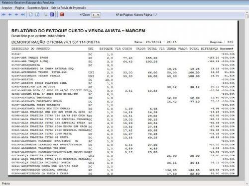 Programa para Oficina Mecânica Moto, OS, Orçamento e Cadastro de Placas v4.1 - Fpqsystem 97584