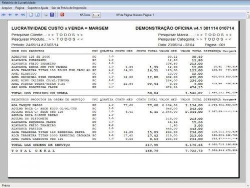 Programa para Oficina Mecânica Moto, OS, Orçamento e Cadastro de Placas v4.1 - Fpqsystem 97585
