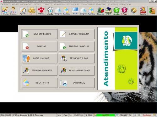 Programa para PetShop e Veterinária com Vendas, Serviços e Financeiro v3.0 - FpqSystem 97648