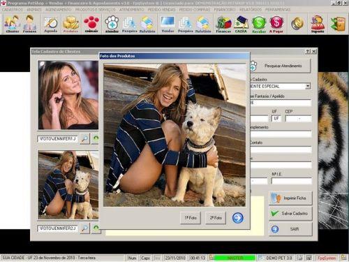 Programa para PetShop e Veterinária com Vendas, Serviços e Financeiro v3.0 - FpqSystem 97652