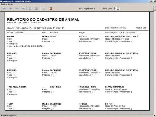 Programa para PetShop e Veterinária com Vendas, Serviços e Financeiro v3.0 - FpqSystem 97662