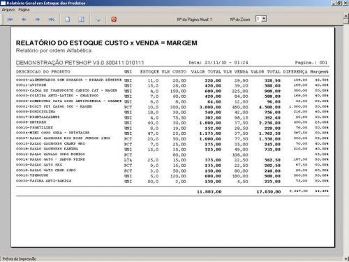 Programa para PetShop e Veterinária com Vendas, Serviços e Financeiro v3.0 - FpqSystem 97664