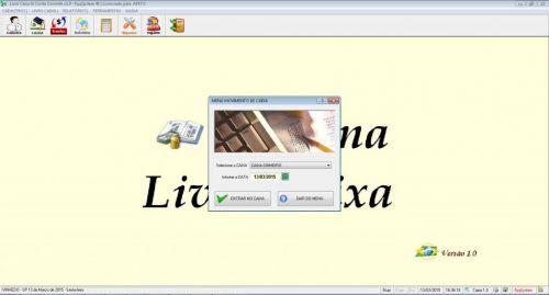 Programa Livro Caixa e Conta Corrente v1.0 133111