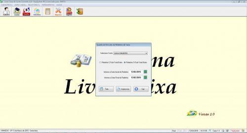 Programa Livro Caixa e Conta Corrente v1.0 133116