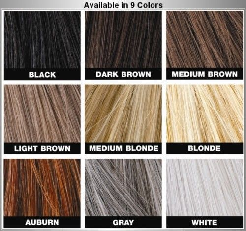 Maquiagem de cabelos Toppik 27,5/esconde cálvice/original 137352