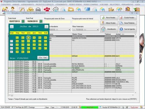 Programa para Clinica Veterinária com e Agendamento e Vendas v2.0 146465